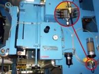 Smarowanie rolek w rotacyjnej maszynie poligraficznej