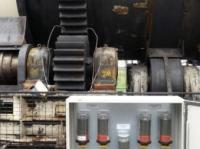 Smarowanie obrotowego fermentatora –  systemu napędowego, rolek podporowych i różnych innych łożysk