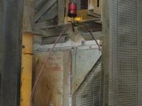 Memolub z blokiem dystrybucyjnym DB-4 smaruje 4 łożyska  w 2-ch wentylatorach na piecu w zakładzie produkcji płyt gipsowych