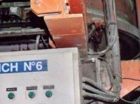 Smarowanie otwartej przekładni w cementowni przy wykorzystaniu smarownicy Memolub i dyszy natryskowej na sprężone powietrze.