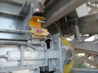 Smarowanie łożyska taśmociągu w przemyśle wydobywczym