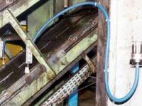 Smarowanie łańcuchów transportowych (przemysł hutniczy)