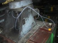 Memolub ze splitterem – smarowanie 2-ch łożysk wentylatora pieca przemysłowego (przemysł stalowy)